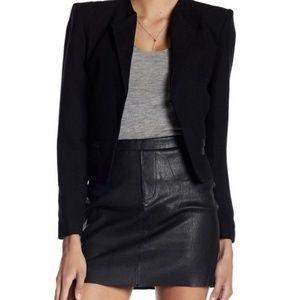 Zadig & Voltaire Jardin Deluxe Leather Mini Skirt